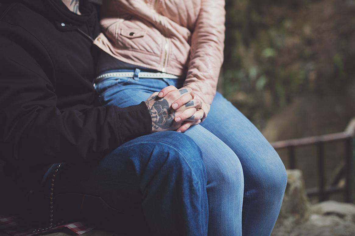 coppia tatuata foto