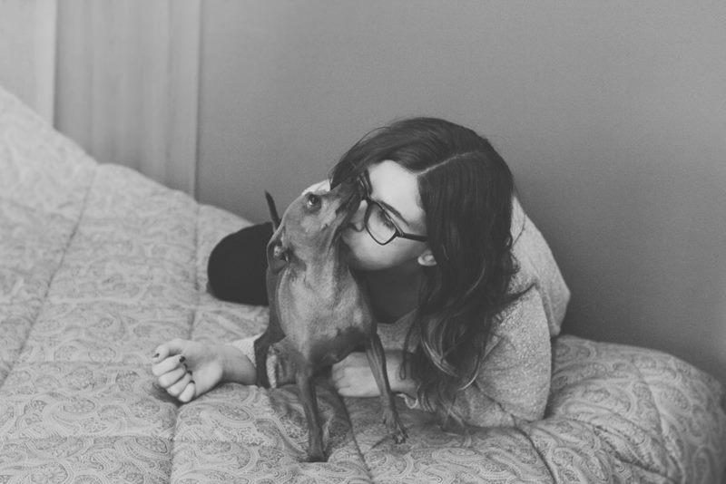 servizio fotografico con animali