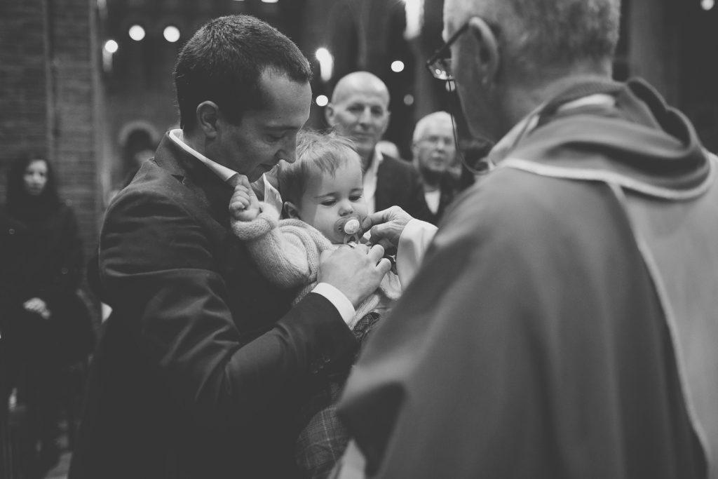 racconto fotografico battesimo