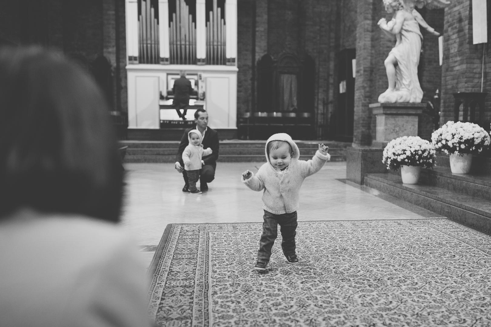 fotografare un battesimo