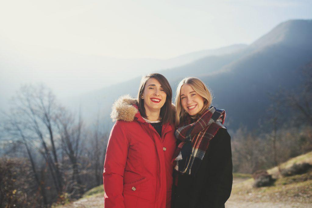 servizio fotografico sorelle