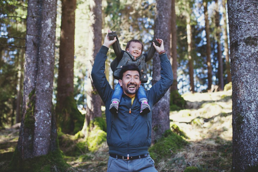 servizio fotografico di famiglia emozionale