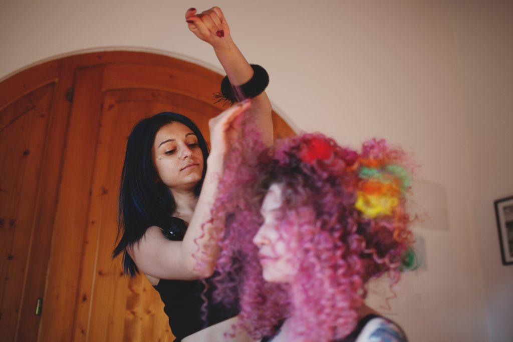 Sara nexhiphi hair stylist