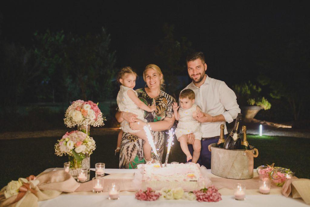torta battesimo foto