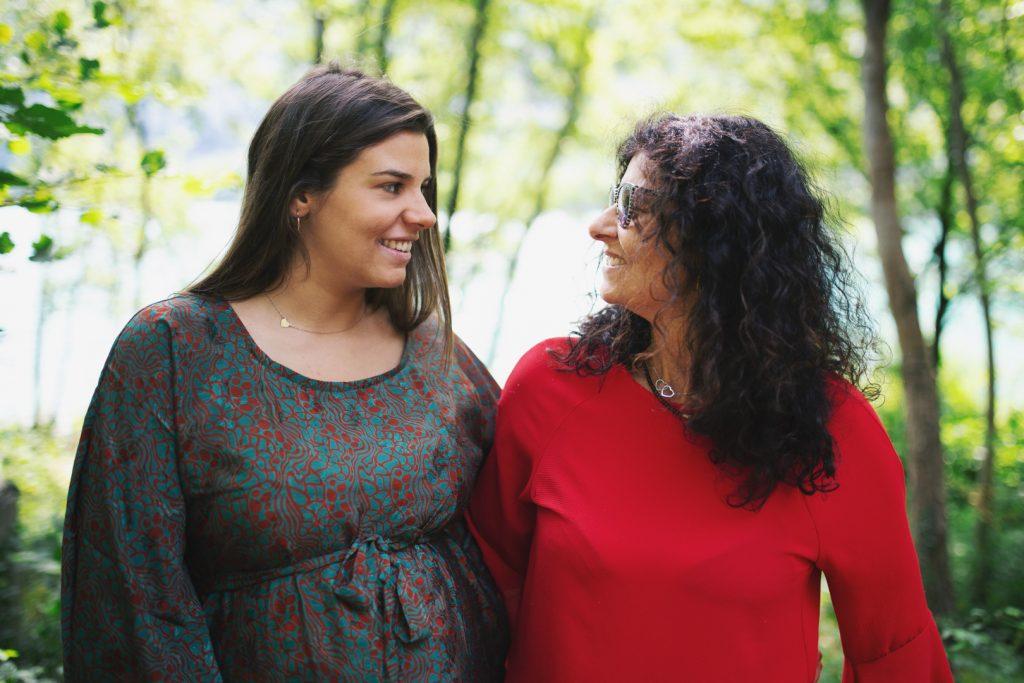 mamma e figlia fotografia