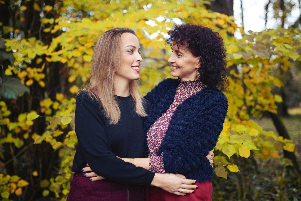 fotografie mamma e figlia